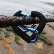 The Dry Bag Carabiner Hooked