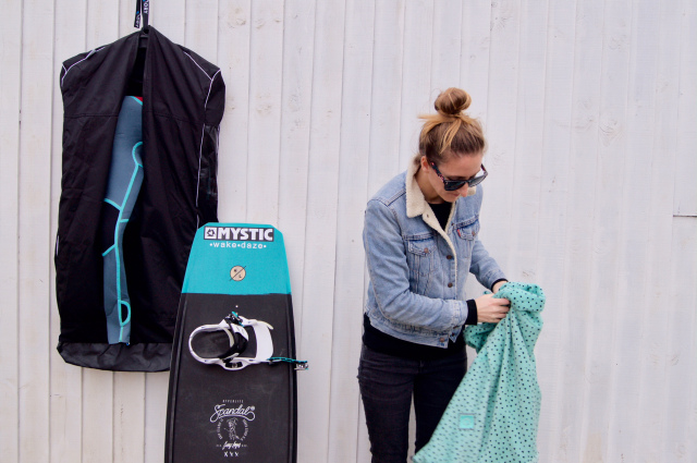 How to dry your wetsuit
